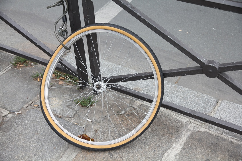 Stolen bicycle in Paris, France